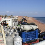 Пляж в Дахабе