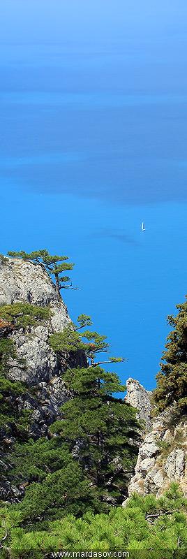 Вид на море с мыса Айя