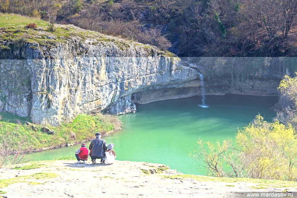 Водопад Мердвен-Тубю